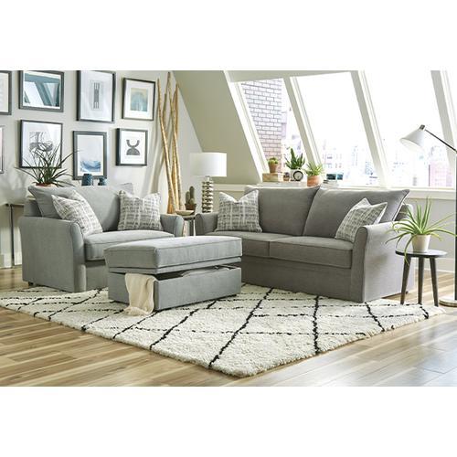 Overnight Sofa - STORAGE OTTOMAN