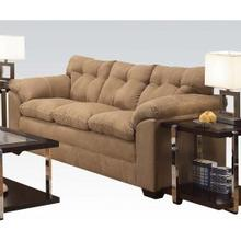See Details - Simmons Velocity Latte Sofa