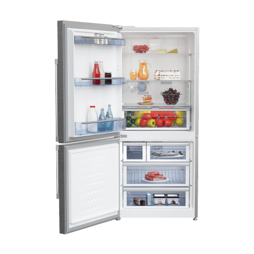 "30"" Freezer Bottom Stainless Steel Refrigerator with Auto Ice Maker (Left Hinge)"