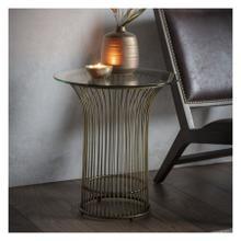 GA Zepplin Side Table Bronze