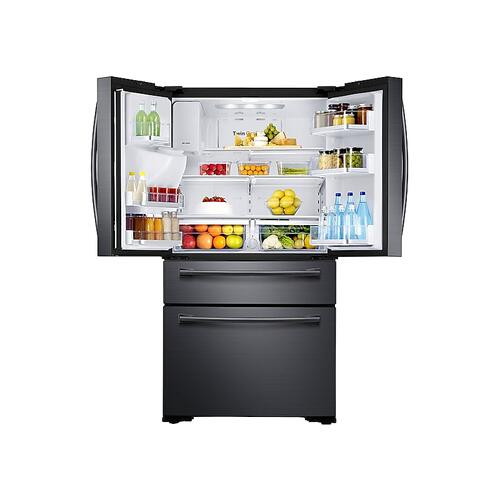 30 cu. ft. 4-Door French Door Refrigerator in Black Stainless Steel
