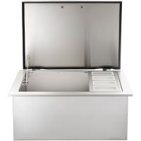 Built-In Ice Chest with Speed Rail