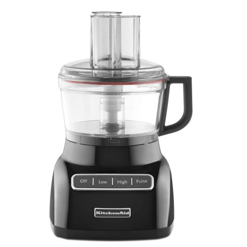 Refurbished 7-Cup Food Processor - Black