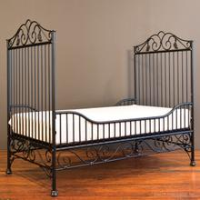 Casablanca Toddler Bed Kit Distressed Black