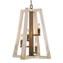 See Details - Pilar 4 Light Pendant ,Burnished Chestnut