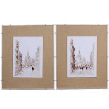 S/2 Framed Prints