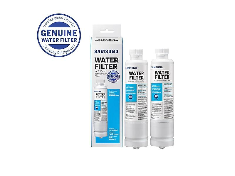 2 pack Refrigerator water filter Compatible Samsung RS25H5111SG,RS25H5111SG//AA
