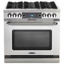 """View Product - Connoisseurian 36"""" Dual Fuel Self Clean Range"""