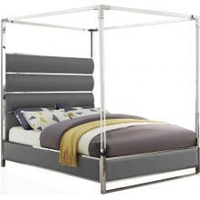 """Encore Faux Leather Bed - 64.5"""" W x 84.5"""" D x 79"""" H"""