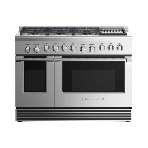 """Fisher & Paykel - Gas Range, 48"""", 6 Burners with Grill"""