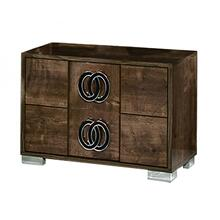 Modrest Athen - Modern Italian High Gloss Nightstand
