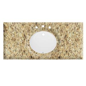 "49"" Giallo Ornamental (GO) - Granite Top"