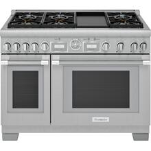 Gas Professional Range 48'' Pro Grand® Commercial Depth PRG486WDG