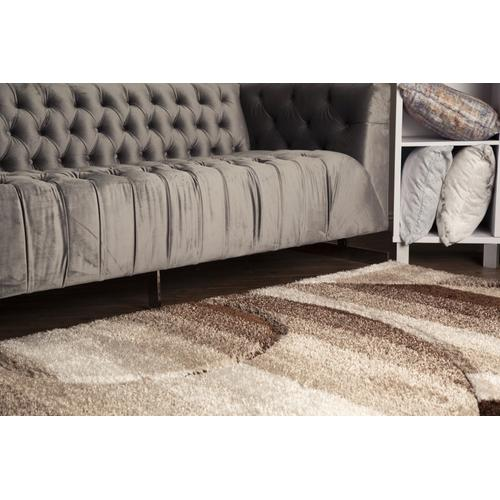 Sorrento 723 Shag Area Rug by Rug Factory Plus - 2' x 3' / Earth