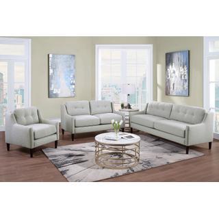 See Details - Mellon Oatmeal Sofa, Loveseat & Chair, U1651