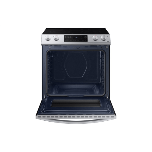 6.3 cu. ft. Electric Range with Slide-in Design in Stainless Steel
