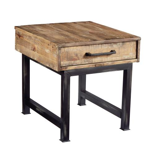 TABLE,END- SALVAGE/CHIMNEY