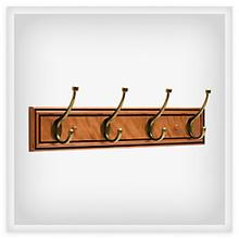 View Product - Galena Pilltop 27 in. Hook Rack