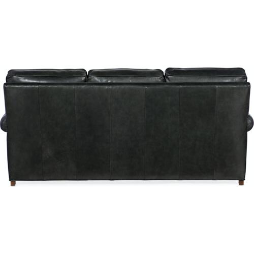 Bradington Young - Bradington Young Reddish Stationary Sofa 8-Way Hand Tie 579-95