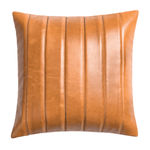 "Moxie 20"" Pillow in Refined Bourbon"