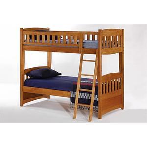 Night and Day Furniture - Cinnamon Twin Twin