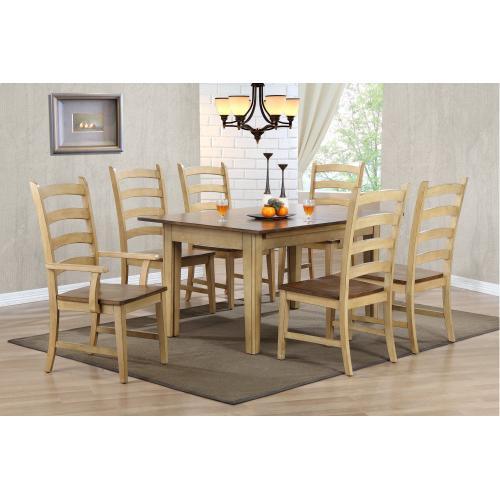 Rectangular Extendable Dining Set (7 piece)