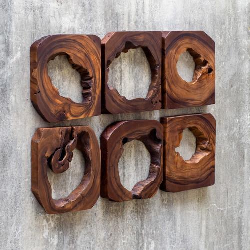 Uttermost - Adlai Wood Wall Art, S/6