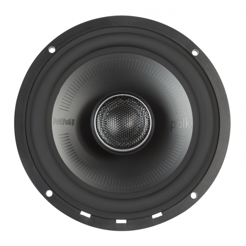 """MM1 Series 6.5"""" Coaxial Speakers with Ultra-Marine Certification in Black and Silver"""