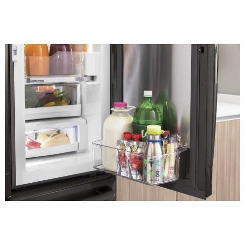 GE Profile™ Series 22.1 Cu. Ft. Counter-Depth French-Door Refrigerator with Door In Door and Hands-Free AutoFill