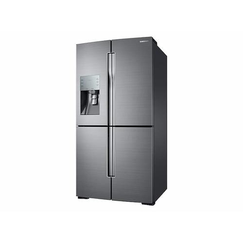 28 cu. ft. 4-Door Flex™ Refrigerator with FlexZone™ in Stainless Steel
