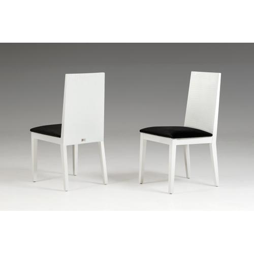 Vgun0062wht In By Vig Furniture In Bolingbrook Il Bridget White Dining Chair Set Of 2