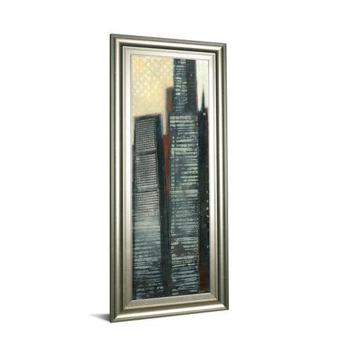 """Urban Landscape IV"" By Norman Wyatt Framed Print Wall Art"