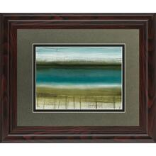 """Shoreline Horizons"" By Heather Mcalpine Framed Print Wall Art"