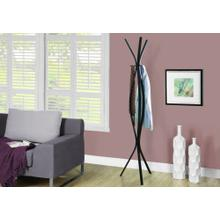 "COAT RACK - 72""H / ESPRESSO METAL CONTEMPORARY STYLE"
