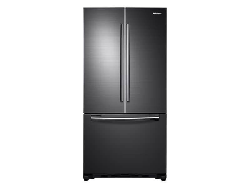 Samsung18 Cu. Ft. Counter Depth French Door Refrigerator In Black Stainless Steel
