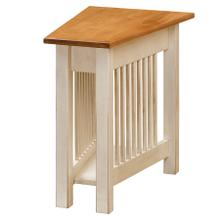 See Details - Mission Wedge Table