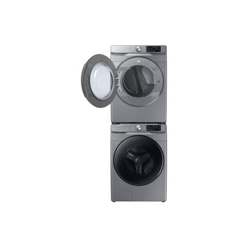 7.5 cu.ft. Gas Dryer with Steam Sanitize+ in Platinum