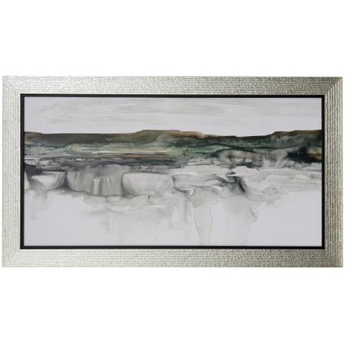 Style Craft - RIVER FLOW  54 X 31  Made in USA  Textured Framed Print