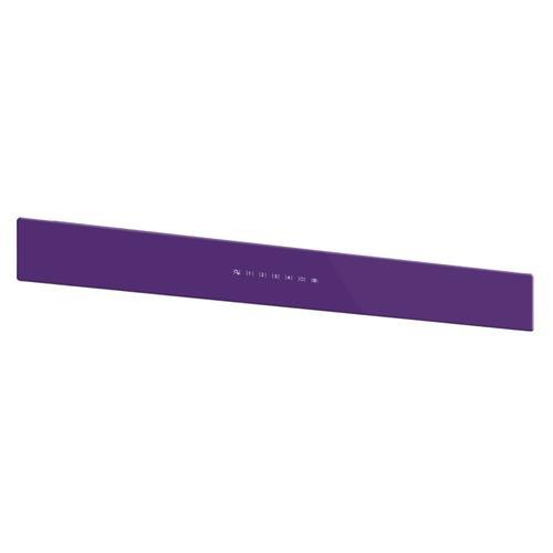 BEST Range Hoods - WCB3 30'' Front Glass Panel Purple