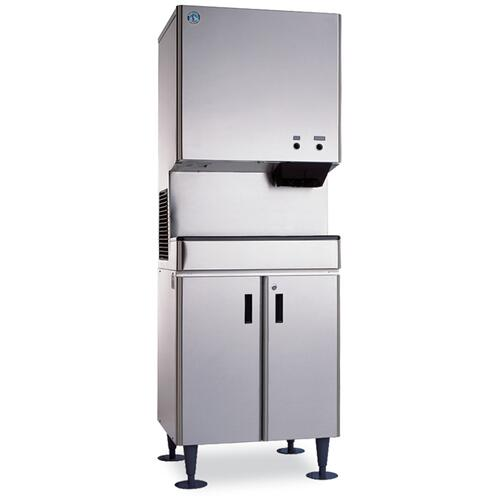 SD-500, Icemaker/Dispenser Stand with Lockable Doors