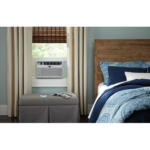 Frigidaire 8,000 BTU Window Air Conditioner with Supplemental Heat and Slide Out Chassis