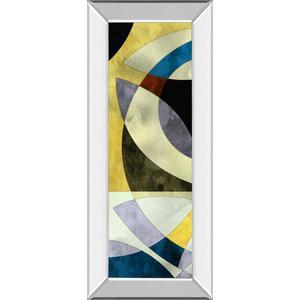 """Elliptic Path III"" By James Burghardt Mirror Framed Print Wall Art"