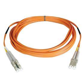 Duplex Multimode 50/125 Fiber Plenum Rated Patch Cable (LC/LC), 30M (100 ft.)