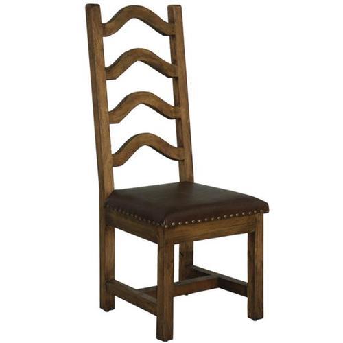 Laguna Chair W/Leather Seat