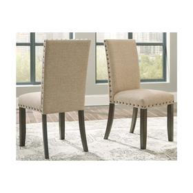 Rokane Dining UPH Side Chair Brown