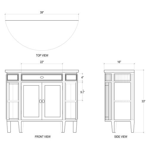 Cocktail Console