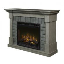 See Details - Royce Mantel Electric Fireplace