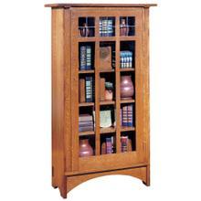 View Product - Single Door Bookcase