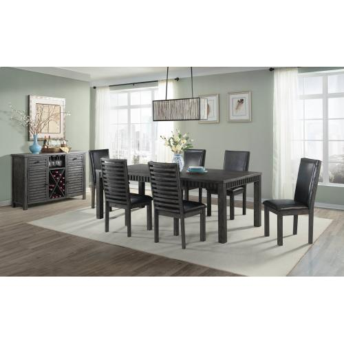 Shelter Bay Dining Set - Table, 2 Arm Chairs, and 4 Side Chairs