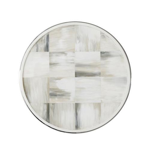 Quadrilaterals (Circular) Side Table